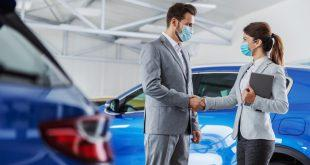 Verkaufsgespräch - Hygienevorschriften im Autohaus