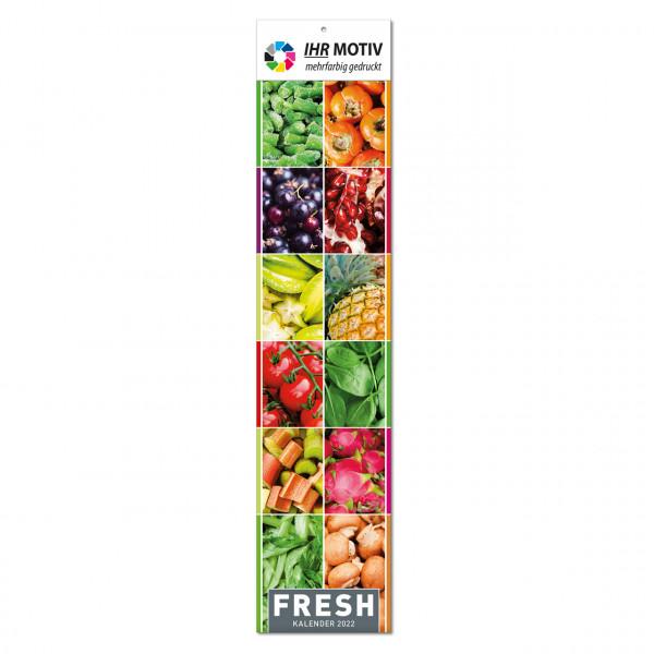 """Streifenkalender """"Fresh"""", Ausgabe 2022"""