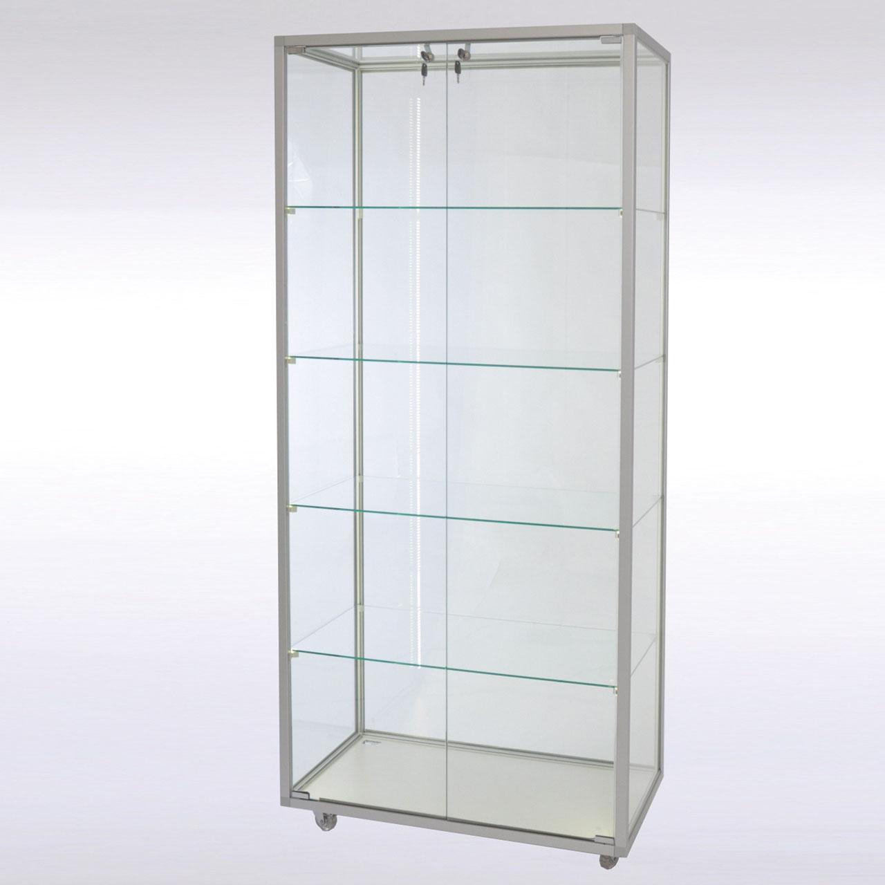 Glasboden Set 4er für 1 trg Glasvitrine B1014