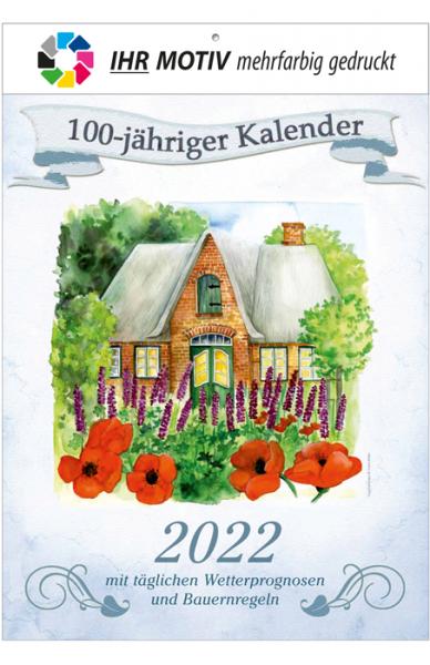 "Bildkalender ""Der 100-Jährige"" - Ausgabe 2022"