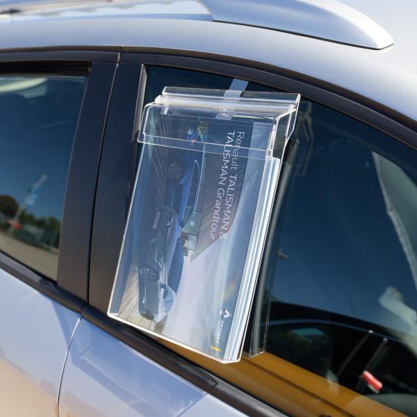 Info-Box für DIN A4 mit Schutzklappe