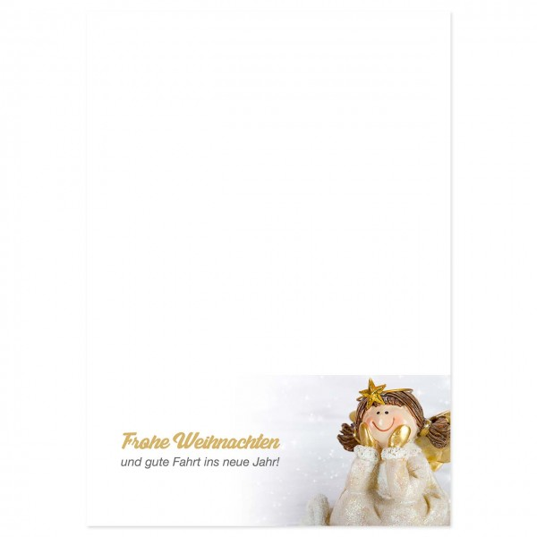 """Weihnachts-Briefpapier, Motiv """"Engel"""""""