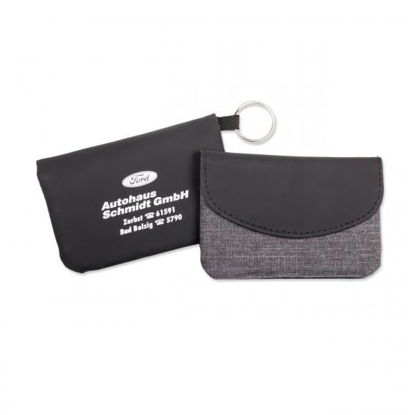 RFID Schlüsseltasche aus Leder