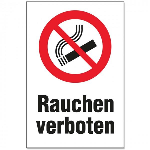 """Schild """"Rauchen verboten"""" in 2 Größen"""