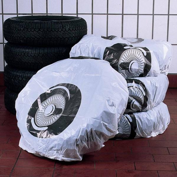 Reifensäcke 300 Stück auf der Rolle mit Radmotiv