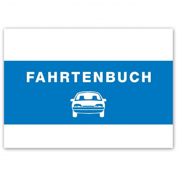 Fahrtenbuch - Vorderseite