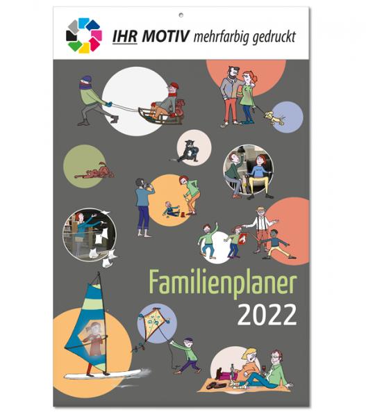 Bildkalender Familienkalender 2022