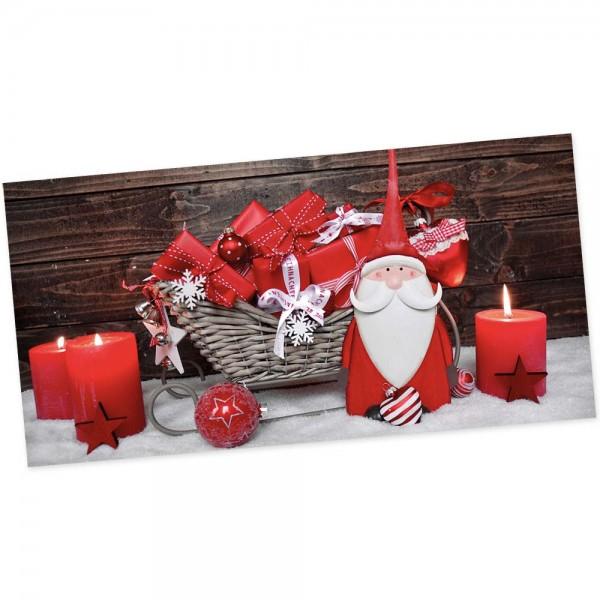 """Weihnachts-Postkarte, Motiv """"Wichtel"""""""