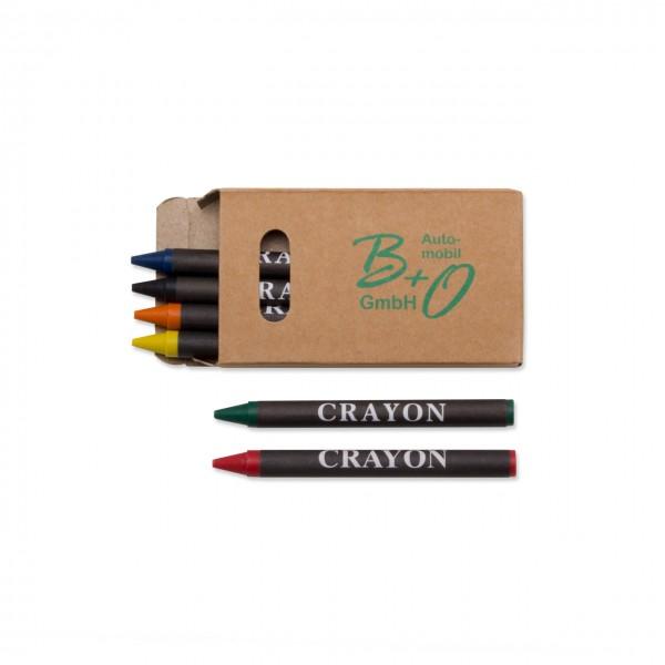 Wachsmalstifte Set mit 6 Stiften