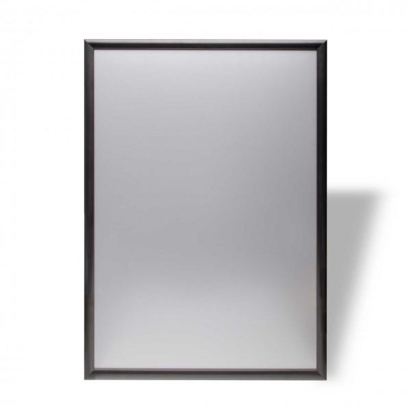 Plakatrahmen schwarz, mit kantigen Ecken, DIN A1 (594 x 841 mm)