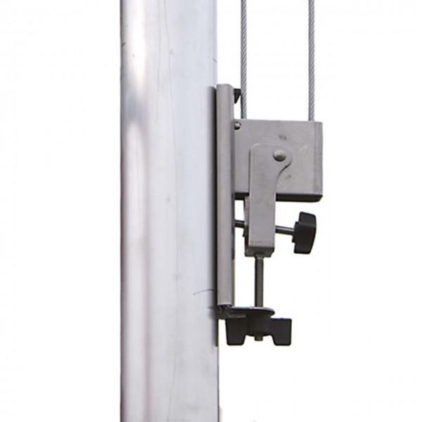 Hiss-Vorrichtung für Fahnenmasten mit 76 mm Außen-Ø