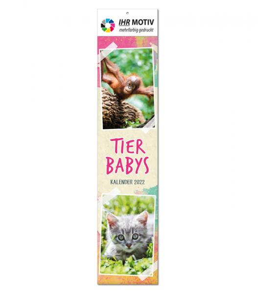 """Streifenkalender """"Tierbabys"""", Ausgabe 2022"""