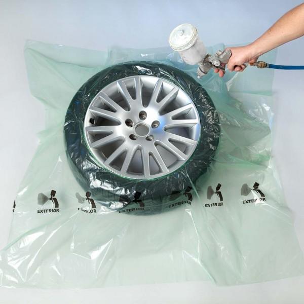 Reifenabdeckung aus MDPE-Folie