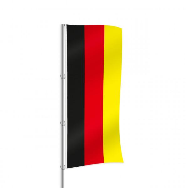 Deutschland-Fahne, Hochformat, 120 x 300 cm