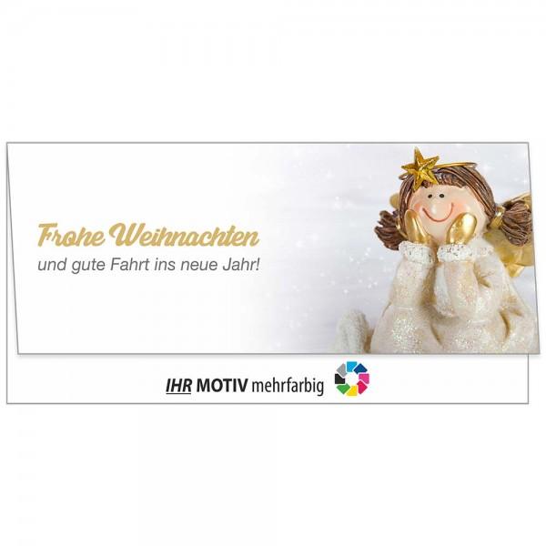 """Weihnachts-Klappkarte, Motiv """"Engel"""""""