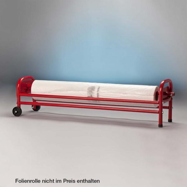 Abrollwagen für Lackierschutzfolie; Folienrolle nicht im Lieferumfang enthalten