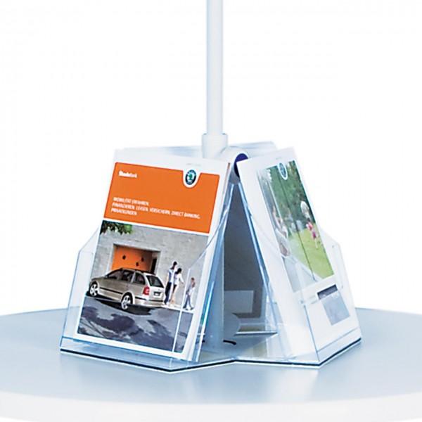 Prospekt-Rondell für Stehtisch/Schirm-Kombination