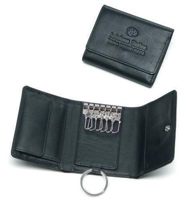 Überschlagbörse aus Vollrindleder