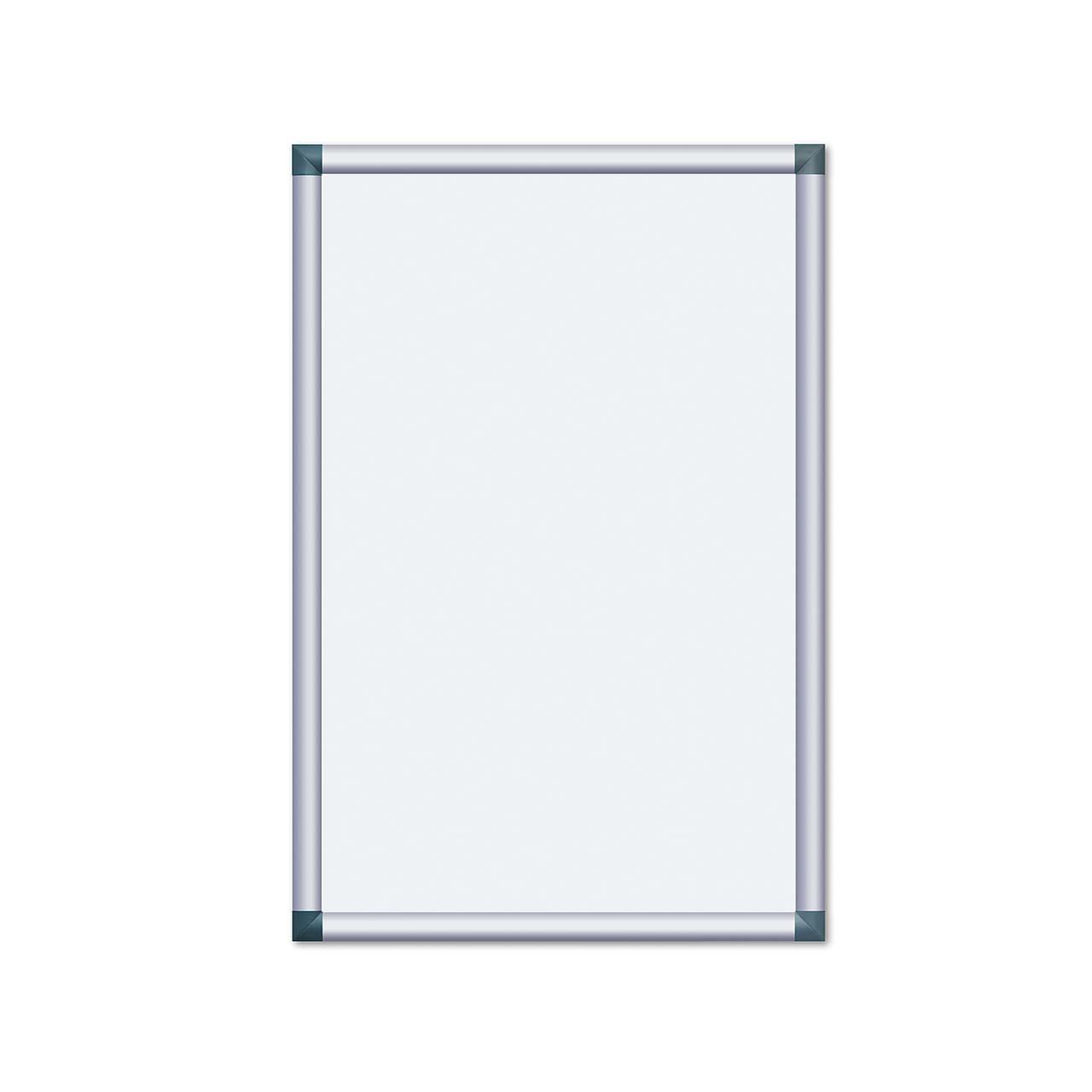 Alu-Plakatrahmen mit kantigen Ecken, 700 x 1000 mm (DIN B1 ...