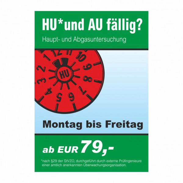 "Plakat DIN A1 ""HU und AU"""