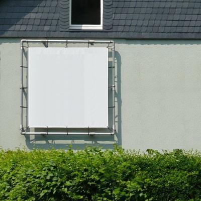 Werbebanner-Rohrrahmensystem für Werbebanner 174 x 174 cm