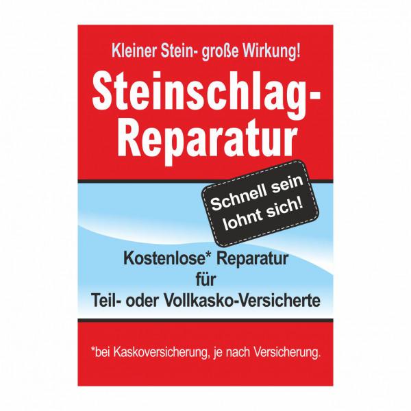 """Plakat DIN A0 """"Steinschlag-Reparatur"""""""