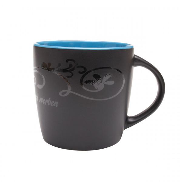 """Keramik-Tasse """"Emilia"""", schwarz"""