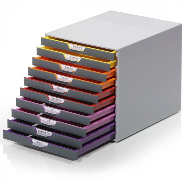 """Schubladenbox """"Variocolor"""" mit 10 Schubladen"""