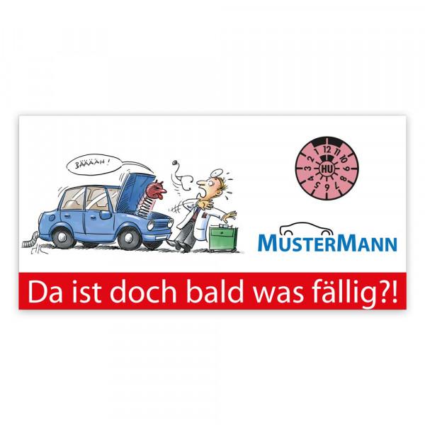 "Maxi-Postkarte ""HU/AU-Erinnerung"", Motiv: Teufelchen"