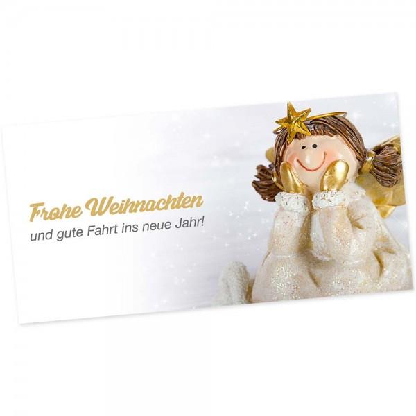 "Weihnachts-Postkarte, Motiv ""Engel"""