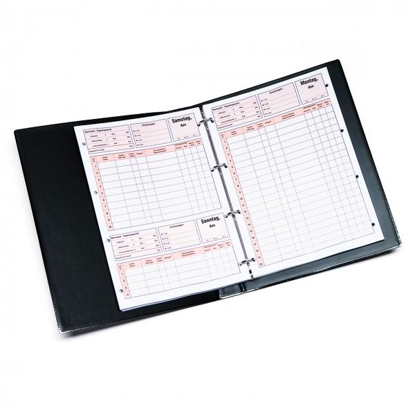 Terminkalender für Service und Reparatur - ohne Datumangabe