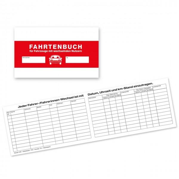 Fahrtenbuch für Fahrzeuge mit wechselnden Nutzern