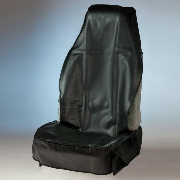 Sitzschoner für LKW-Sitze mit Nackenstütze, wiederverwendbar
