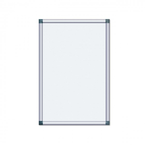 Alu-Plakatrahmen mit kantigen Ecken, 700 x 1000 mm (DIN B1)