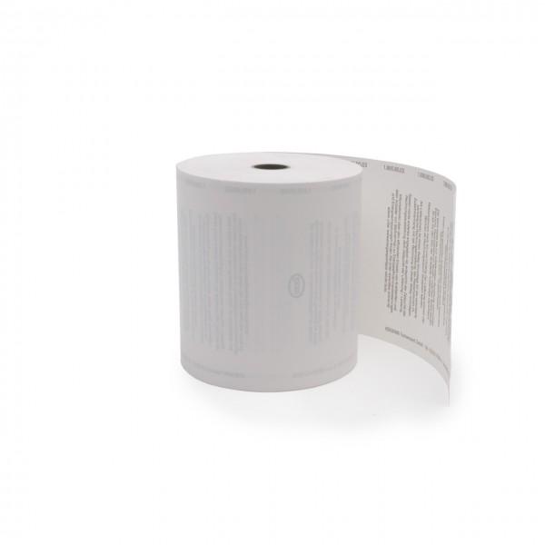 Thermo-Rolle mit ESSO-Druck, Breite 80 mm
