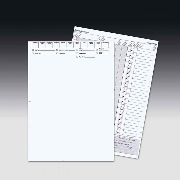 Arbeitskarten zur PC-Beschriftung, DIN A4 Einzelblatt