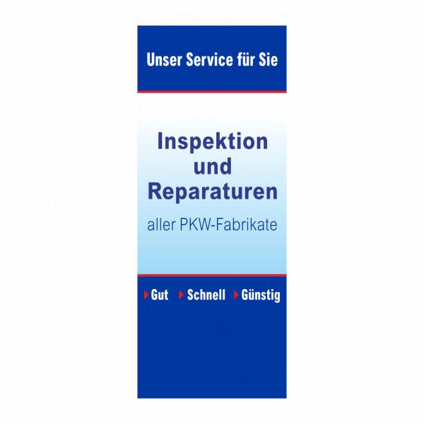 """PopUp Banner """"Inspektion und Reparaturen"""""""