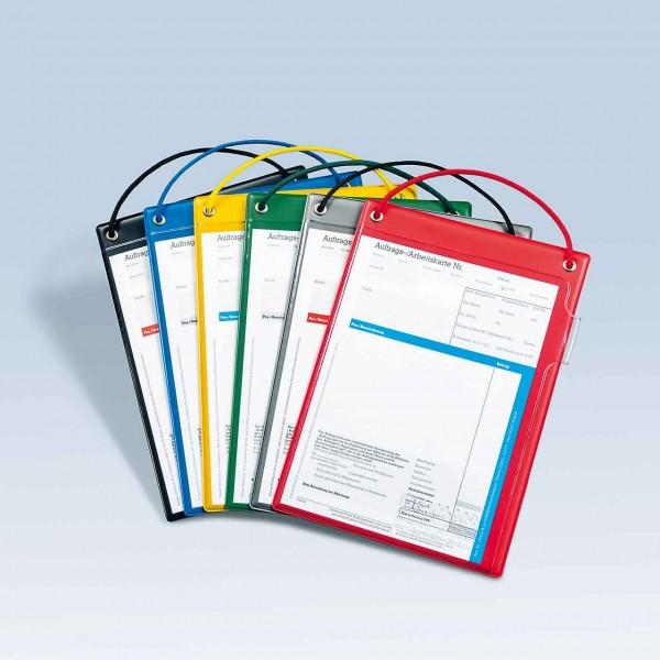 Auftragstaschen DIN A5 mit Kordel und Klett-Verschluss, ohne Unterlagen-Fach