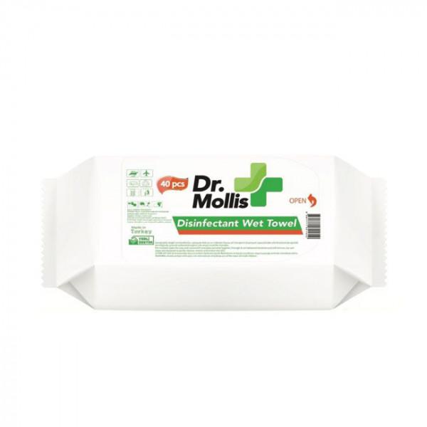 Desinfektionstücher 40 Stück Packung
