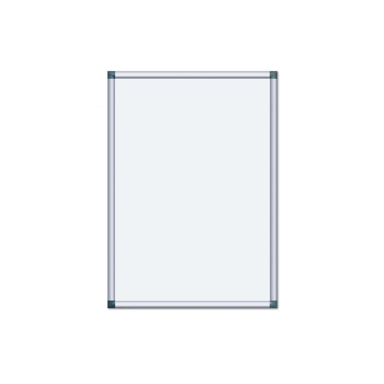 Alu-Plakatrahmen mit kantigen Ecken, DIN A1 (594 x 841 mm ...