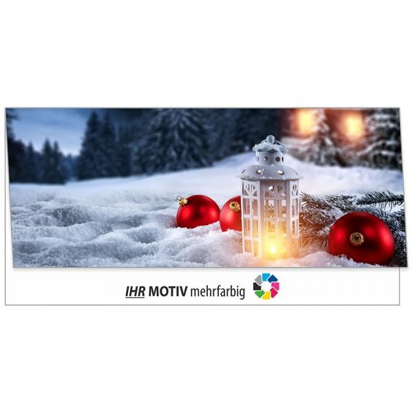 """Weihnachts-Klappkarte, Motiv """"Winter"""""""