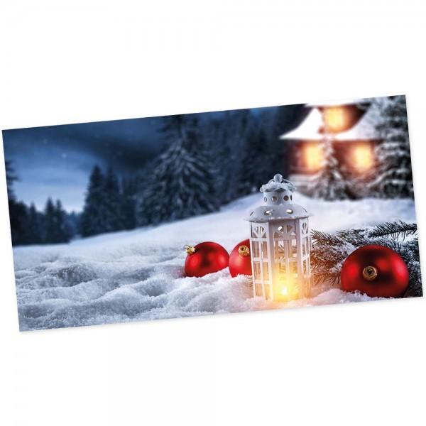 "Weihnachts-Postkarte, Motiv ""Winter"""