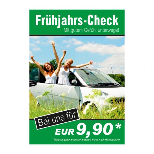 "Plakat DIN A0 ""Frühjahrs-Check"""