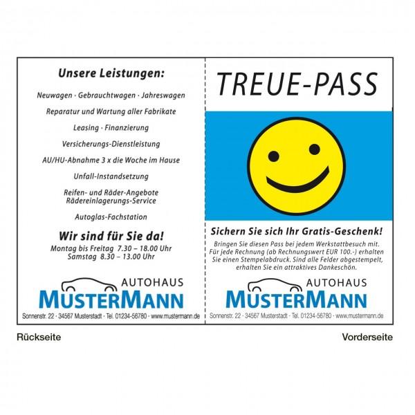 "Treue-Pass, Motiv: ""Smily"""