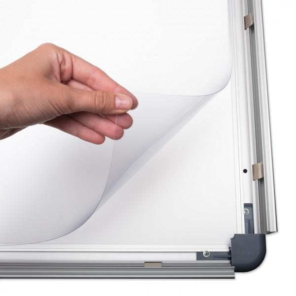 Antireflex-Schutzfolie für Plakatrahmen DIN A1 (594 x 841 mm)