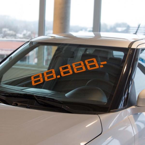 LCD Gesamtpreis, orange