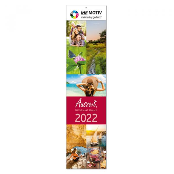 """Streifenkalender """"Auszeit"""", Ausgabe 2022"""
