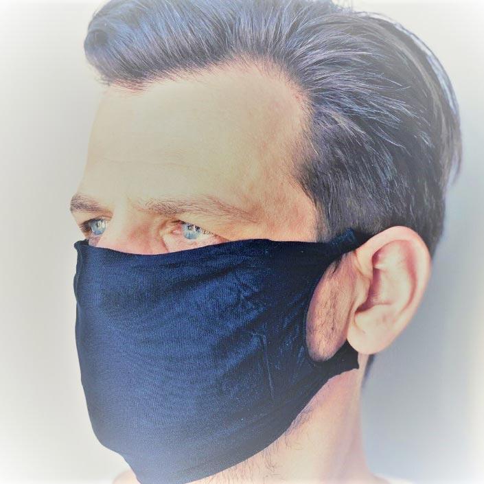 Anwendungfoto - hochwertige Mund- und Nasen-Maske