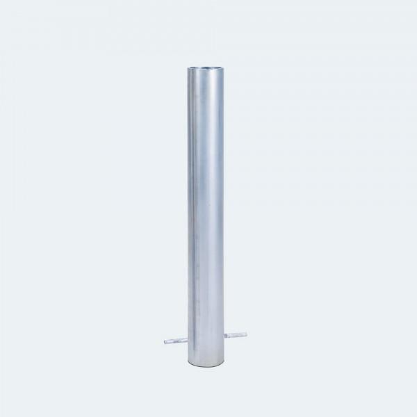 Bodenhülse für Fahnenmast aus verzinktem Stahl