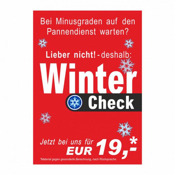 """Plakat DIN A1 """"Winter-Check - allgemein"""""""